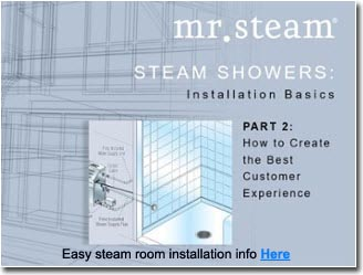 Steam Shower Sauna Mr Steam Baths Steam Rooms Steam